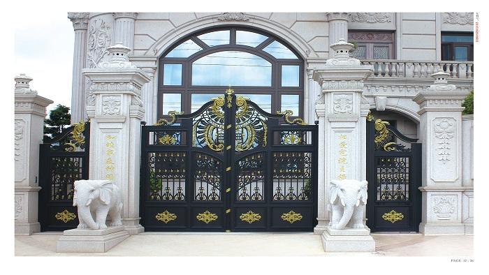 铜辉门窗别墅庭院门可以给您带来什么好处呢?