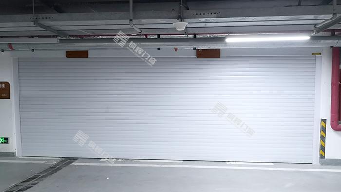 北京恒大书院电动卷帘门安装