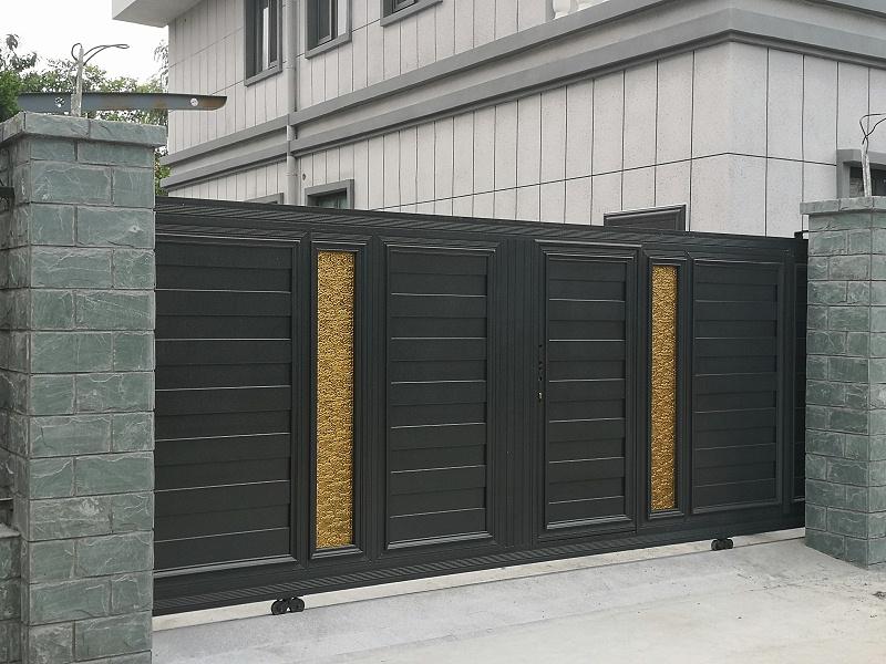 八达岭山庄铝艺庭院门