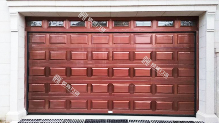 铜翻板车库门