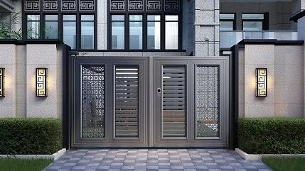 你担心庭院门的碰撞吗?铜辉门窗智能锁能解决了问题。