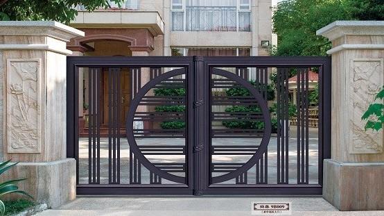 【铜辉门窗】庭院门是门面,也是艺术