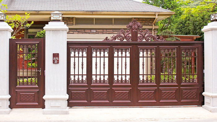 铝艺别墅庭院门